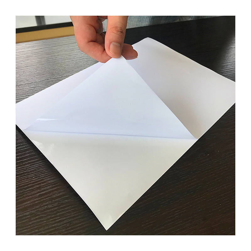 Inkjet Printing Self Adhesive White Vinyl Sticker A3 A4 Size Paper Sticker