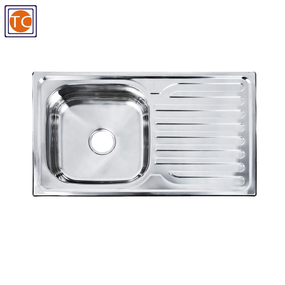 Used Stainless Steel Kitchen Sink For Big Sales in Indonesia