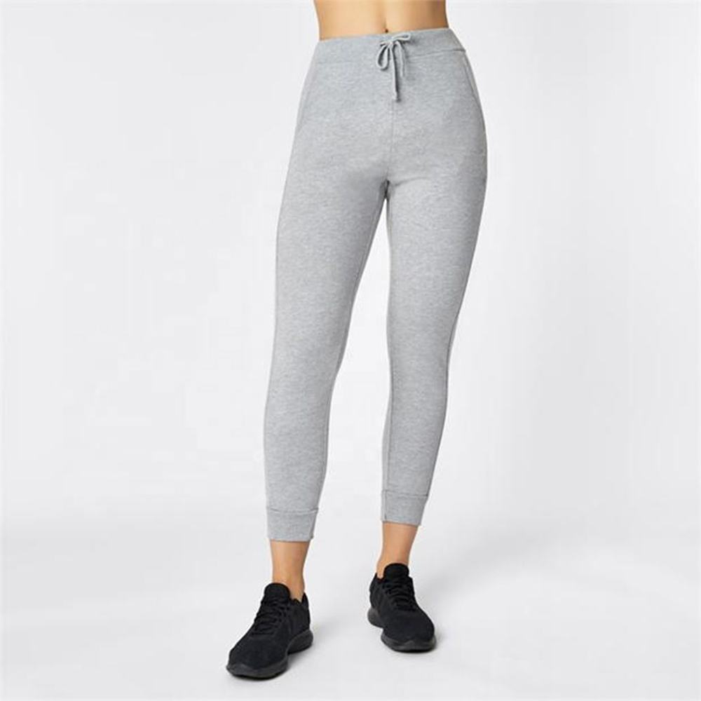 Factory custom cheap women's jogger knit cotton polyester private label winter sport laadies jogging pants