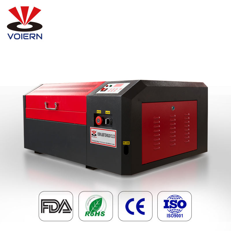 VOIERN Good quality 4040 Laser engraving machine Laser cutting machine for plywood arylic