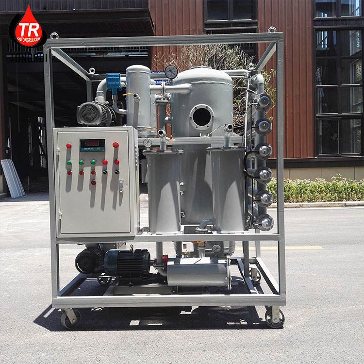 High Vacuum Industrial Oil Filtration of Transformer