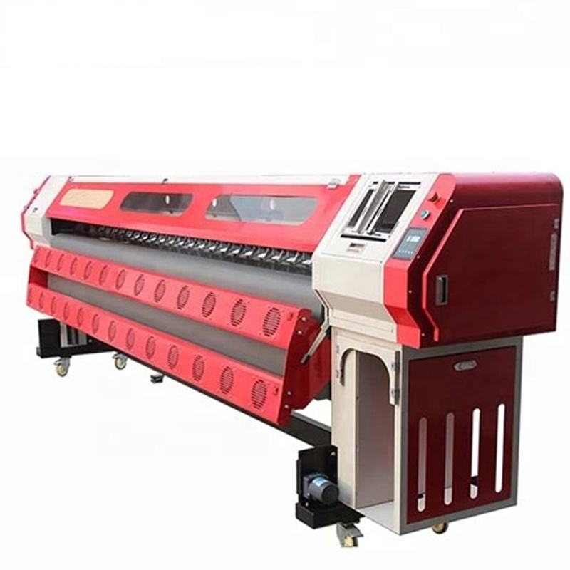 Best selling digital konica head solvent pvc flex printing machine in india