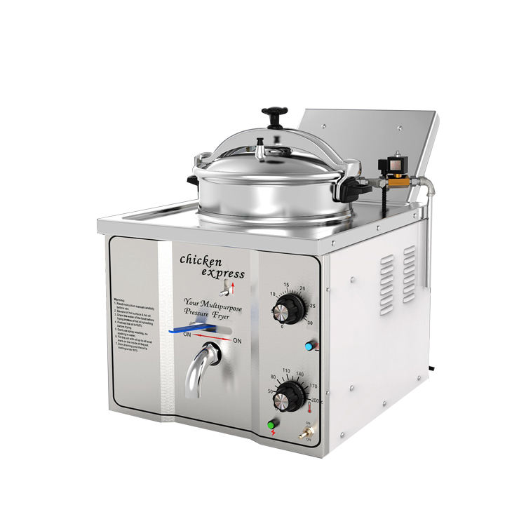 Table Top Potato Chips Fryer Machine/Broasted Electric Pressure Fryer/Deep Fried Chicken Machine