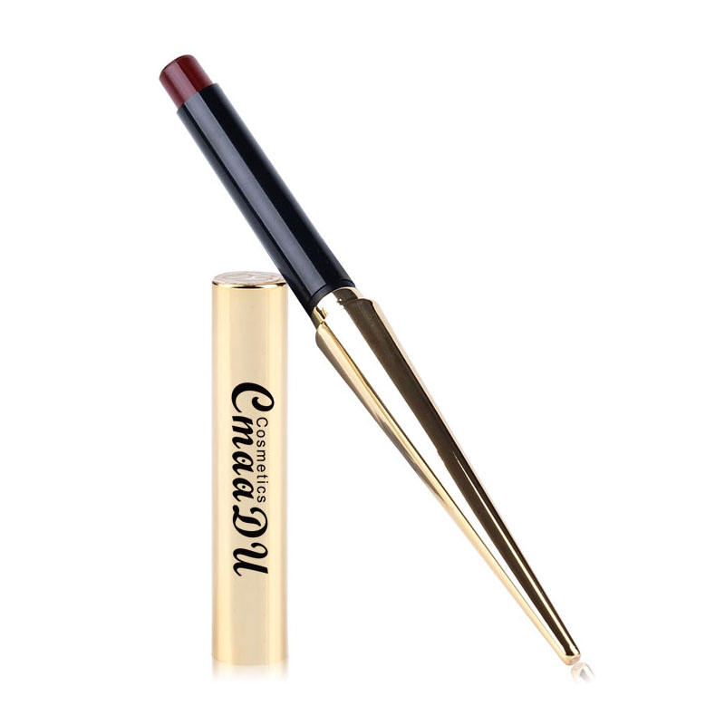 Cmaadu Multifunktion ales High Pigment Smoking Lippenstift Pen Lippen Make-up für Erwachsene Kinder Wasserdichter Stift