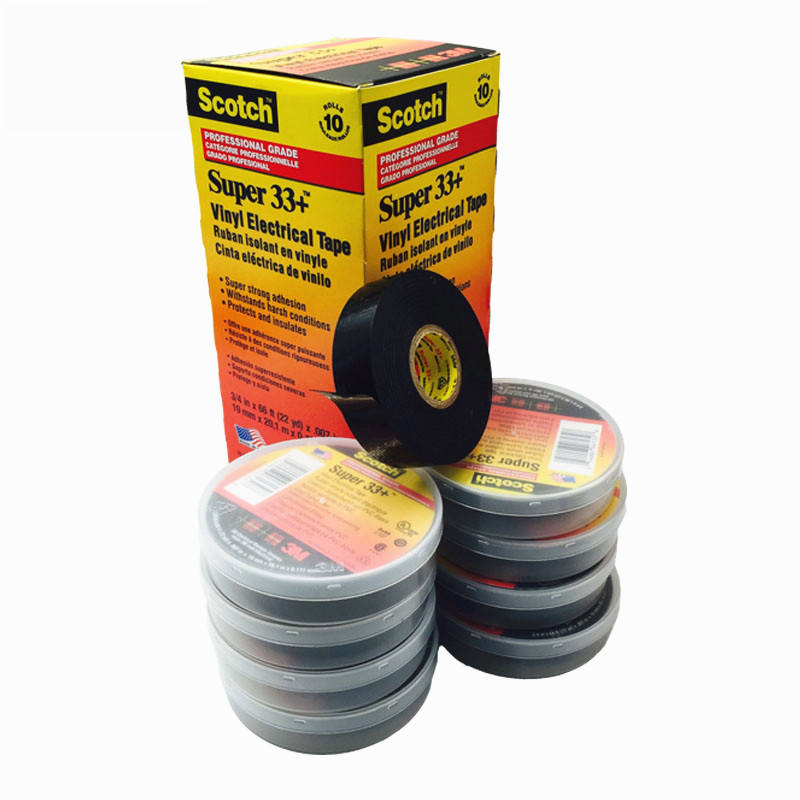 3 メートル超 <span class=keywords><strong>33</strong></span> + PVC 電気絶縁粘着ビニールテープ