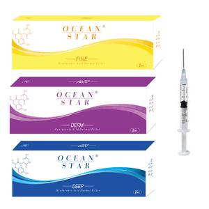 2020 New Skin Rejuvenation Injectable Ocean Star HA Dermal Filler 1ml 2ml 10ml