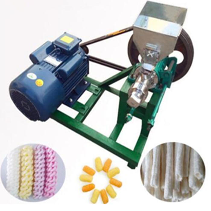 ZY Extruder For Food Corn Rice Stick Extruder Puff Snack Machine Corn Pops Snacks Food Making Machine(whatsapp: 008615039114052)