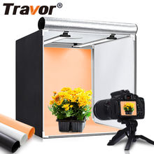 Travor M60 II 126pcs 13000lm 60cm 24inch lamp tent softbox mini photo studio photography light box