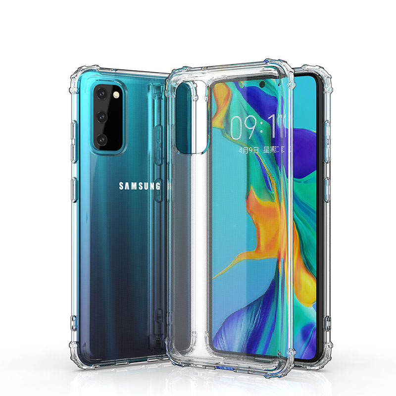 Mobiele Telefoon Geval Voor Samsung S20 Case Voor Samsung Galaxy S11S20 Plus Clear Case Transparant Tpu Soft Shockproof Back Cover