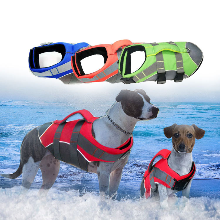 Pet Dog Life Jacket , Dog Custom Anxiety Jacket for Dog , Dog Swimming Vest Pet Safety Vest