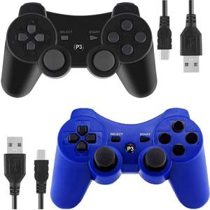 Factory Supply Cheap Wireless Gaming Console Controller Blue Tooth Gamepad For PS3 Dualshock Game Joystick Joypad Joy Pad