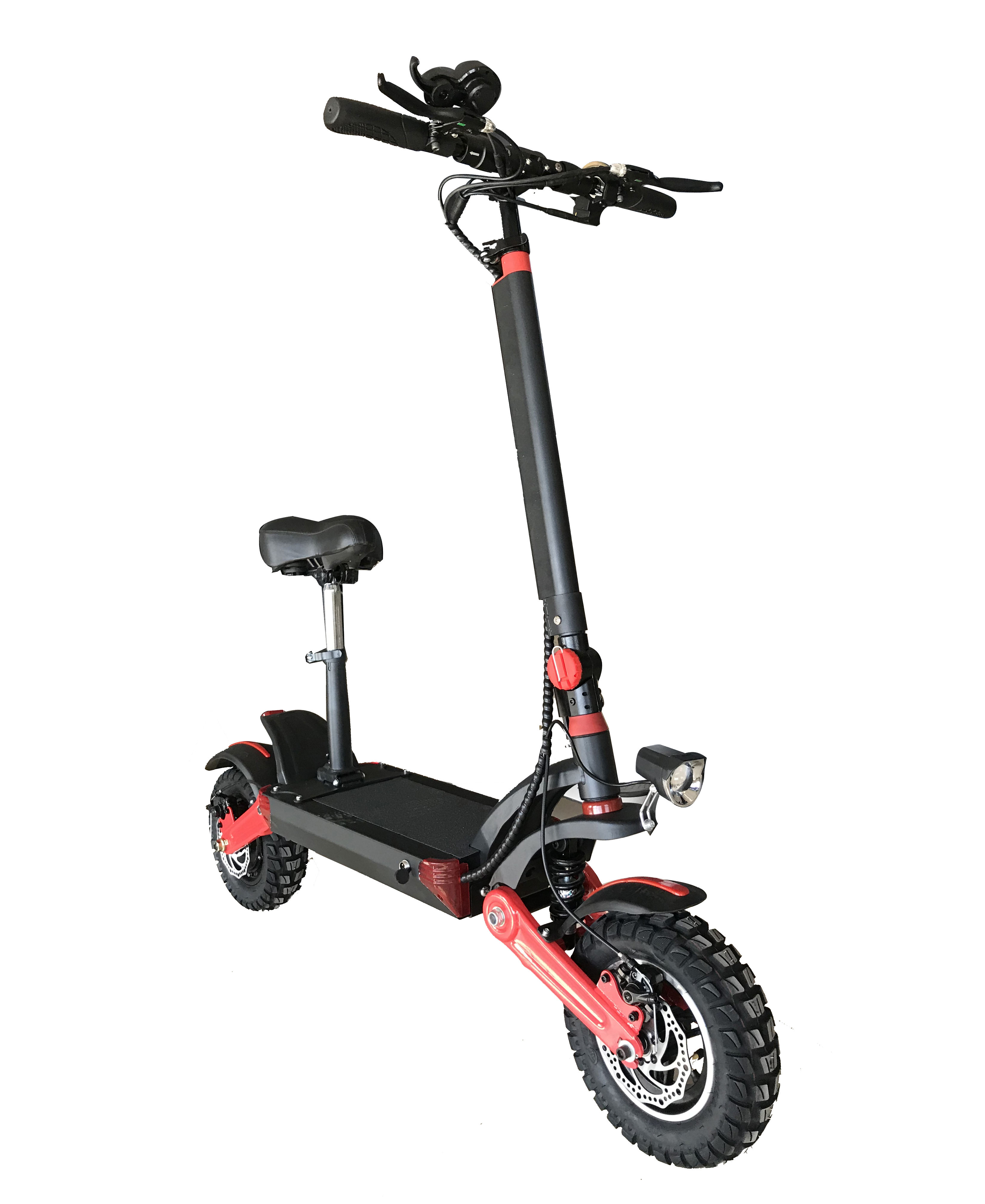High Power 500W Fat Tire 12 Inch Suv E-Scooter Off Road Folding Electric Scooter Lithium Battery With Seat For Adults