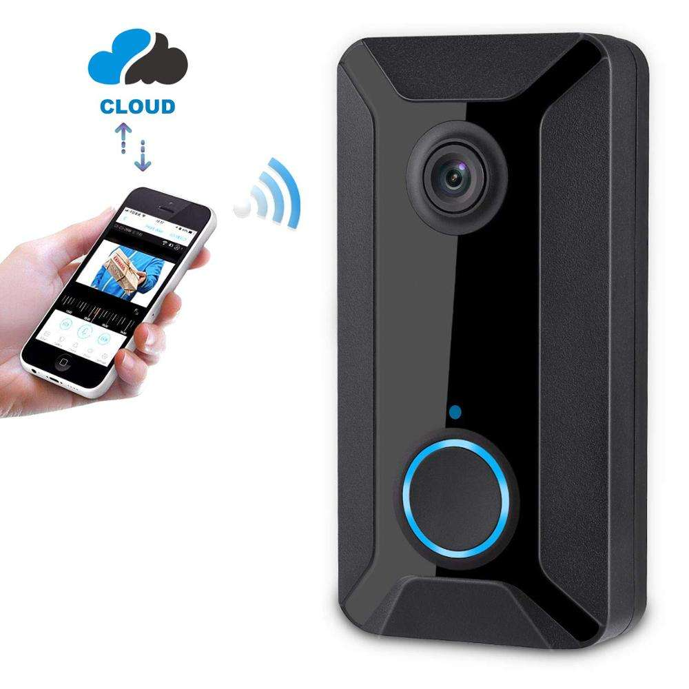 Real Time video Smart Wireless WiFi Video Doorbell 720P Cloud Storage Security Camera with Night Version