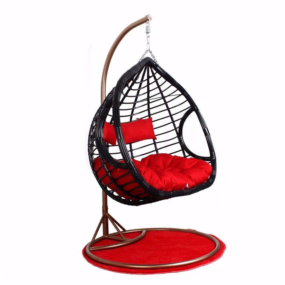 2020 new style outdoor egg rattan swing hanging chair