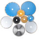 Best quality Wet Dry marble cutting disc 350 turbo diamond saw blade 4