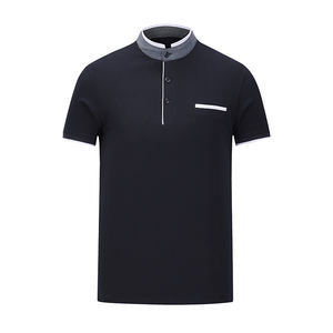User-friendly design fabric men's polo shirts 100% cotton mens polo shirts