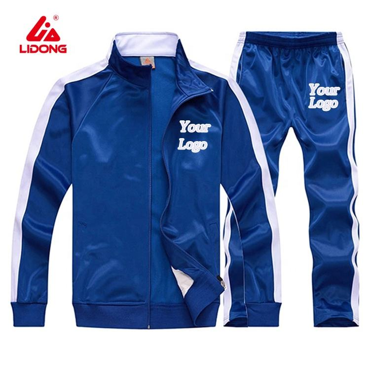 Custom Track Suits Tracksuit For Men Polyester Sportswear Track Suit