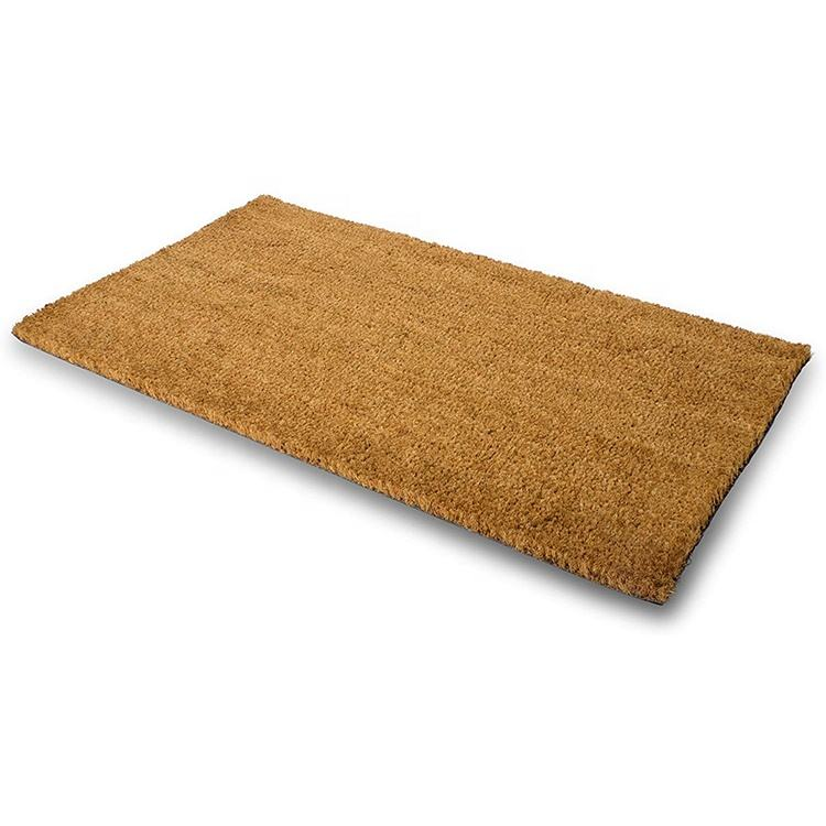 Natural Coco Coir Fiber Entrance Indoor/Outdoor Kitchen Floor Anti Slip Rubber Backing Coconut Coir Mat