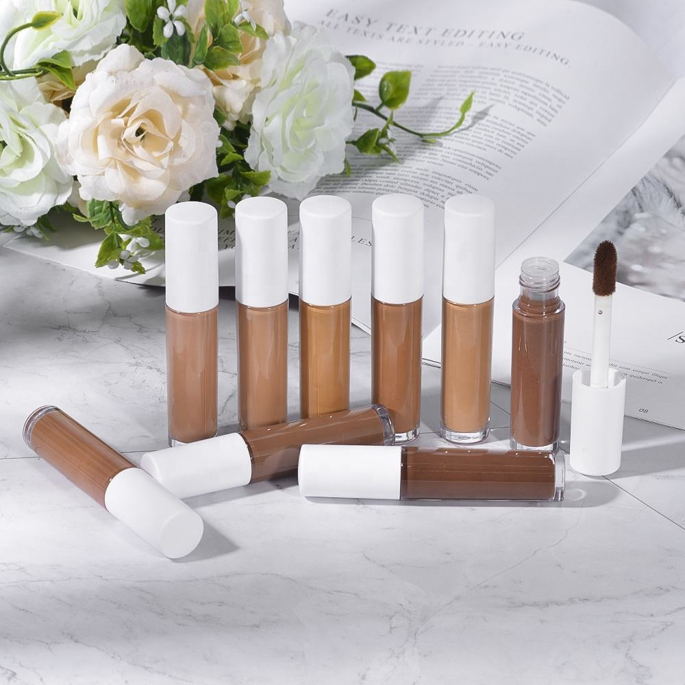 Priivate Label whitening moisturizing full coverage skin hydratie custom liquid concealer 6ml for dry skin