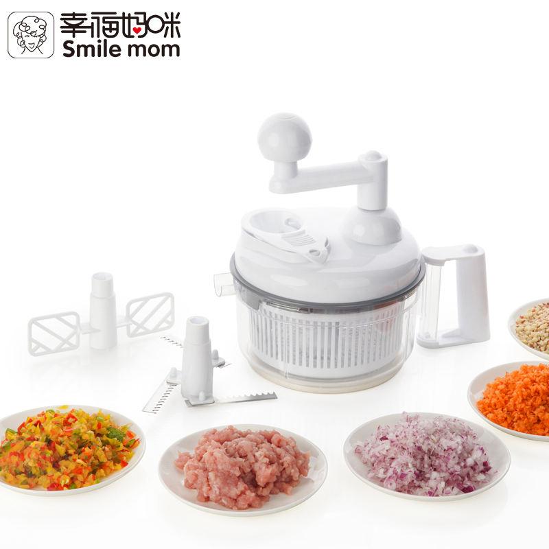 Processador de alimentos genius manual para mini cozinha rei pro atacado