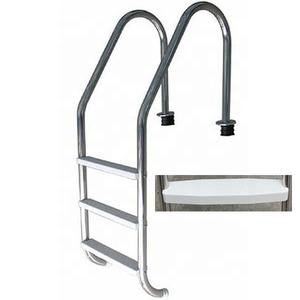 Factory price stainless steel swimming pool step ladder