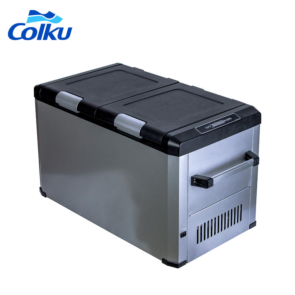 portable mini display home appliances stocks supermarket refrigerator french used compact compressor double door fridge
