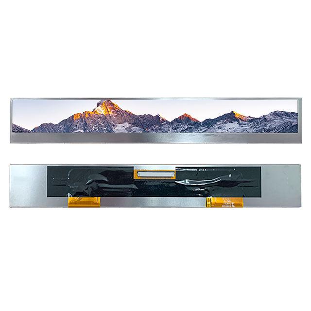 OEM ODM Youritech 11 polegadas tft lcd 1280x120 tela de lcd personalizado bar display module 18 bit RGB interface