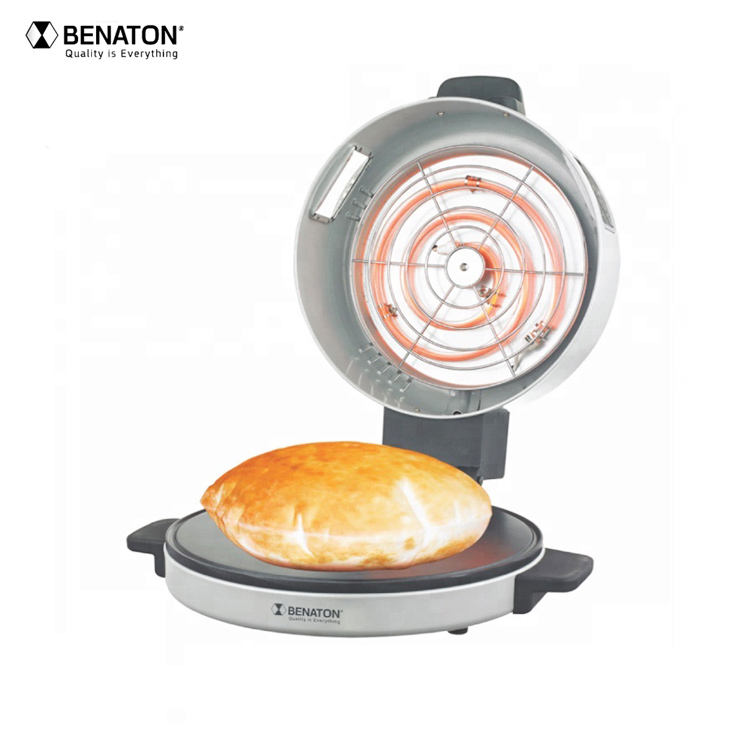 Electric French bread Machine Grill Arabic Pizza Round Bread Maker