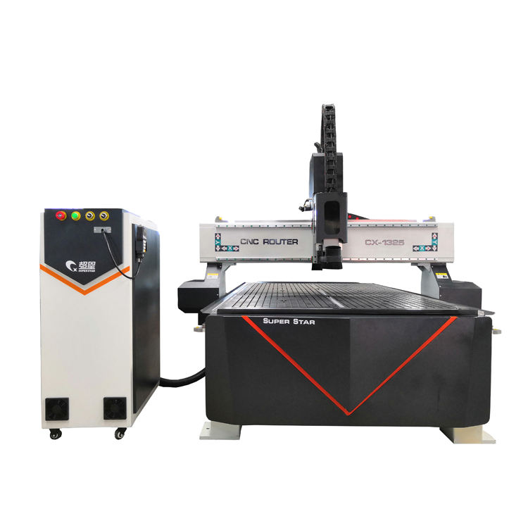 Easy operation 1325 3 axis cnc wood router machine
