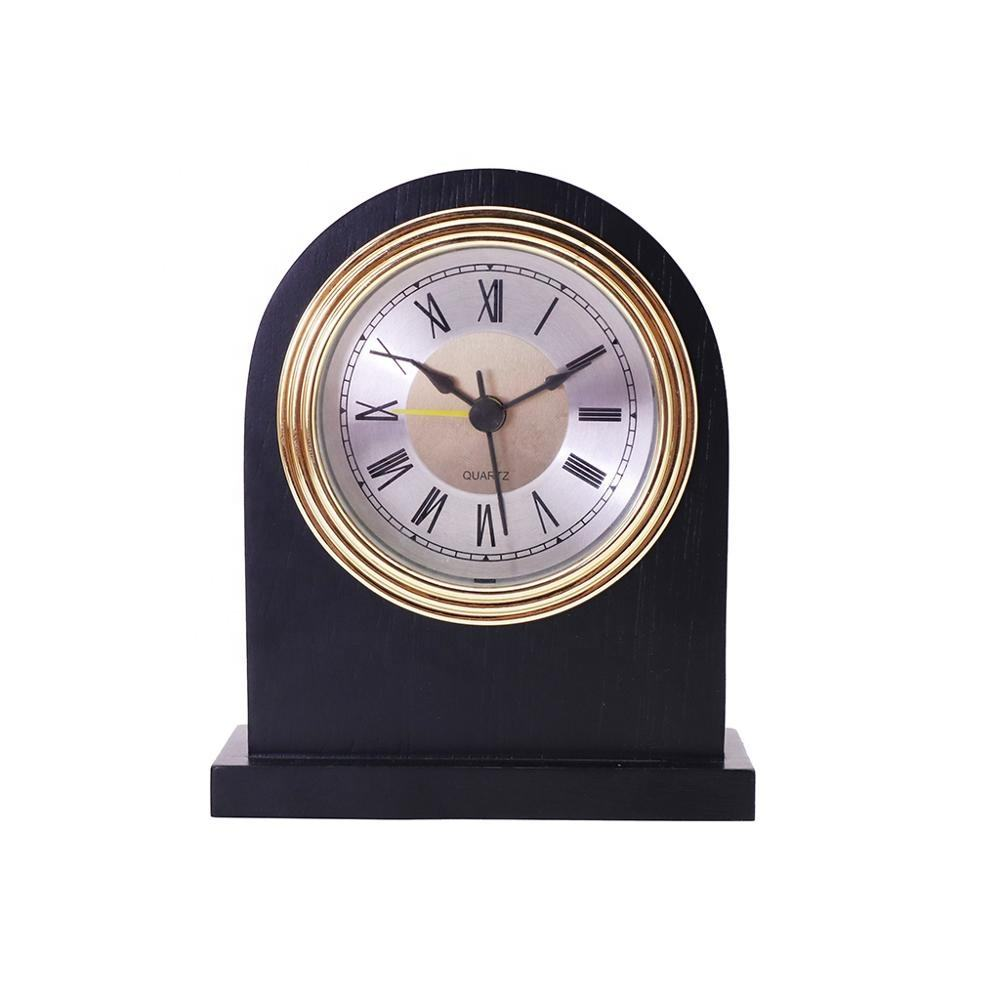 Solid Wood Alarm Clock Table Clock Mechanical Alarm Clock