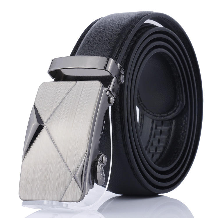 hot selling Fashion men belts PU leather automatic buckle leather belt