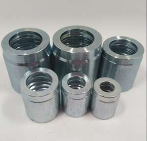 "Bushing Crimp Tube SAE 100 r1at//r2at Size 1//2/"" Box 10 pieces"