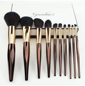 Wholesale Professional Makeup brush Set Facial Cosmetic Brush Make Up 10pcs
