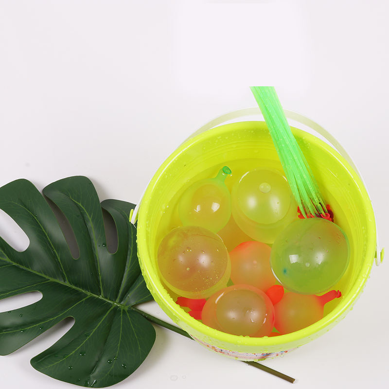 Water Balloons 111pcs/Pack Summer Holi Party Game Toy Biodegradable Latex Neon Small Ballon Easy Quick Fill Self Sealing