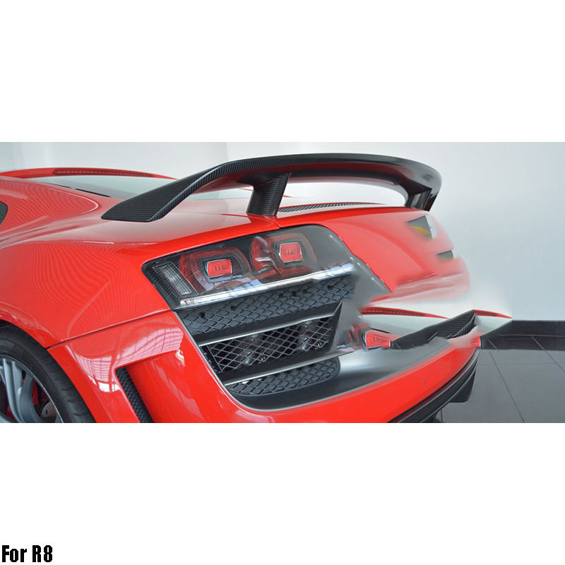 Carbon Fiber Car spoiler For R8 GT V8 V10 2007-2016 Rear Spoiler