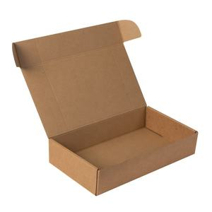 Recycled Kraft Shipping packaging Corrugated Box Custom Paper Packs Express Mailer Easy Assemble Boxes Biodegradable