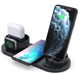 Phone Charger Iphone Dock Trending 2020 3 In 1 Phone Wireless Charger Stand For Apple Watch For Iphone Charging Dock Station For Airpods/for Airpods Pro