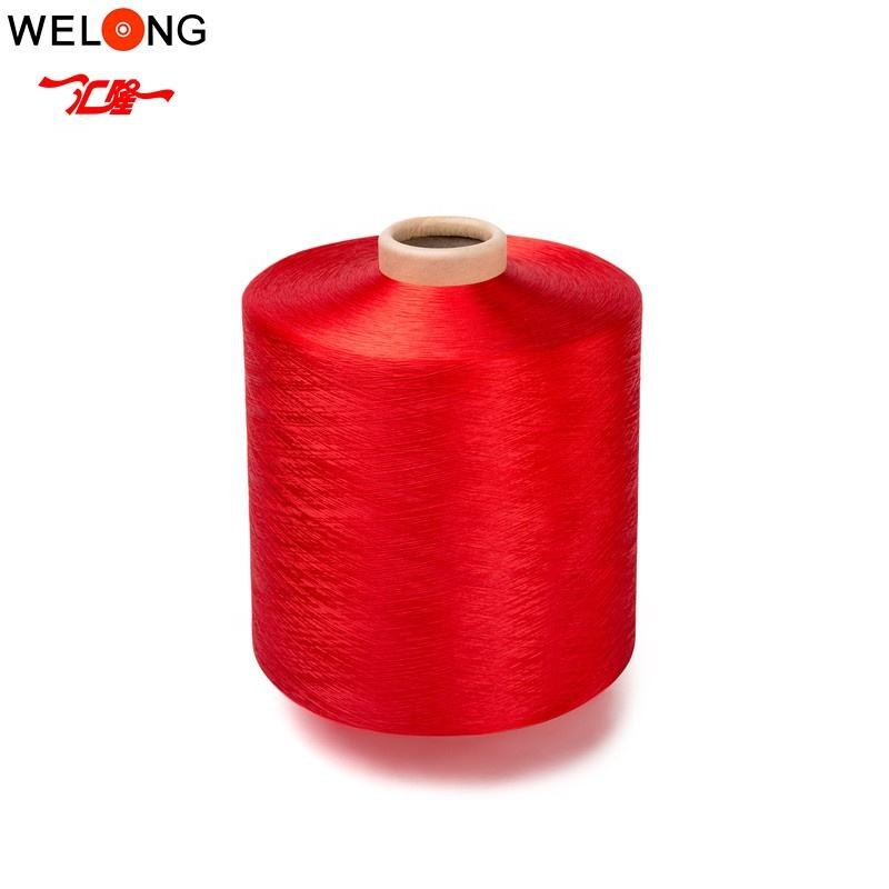 hangzhou polyester dty yarn 150/48 for knitting