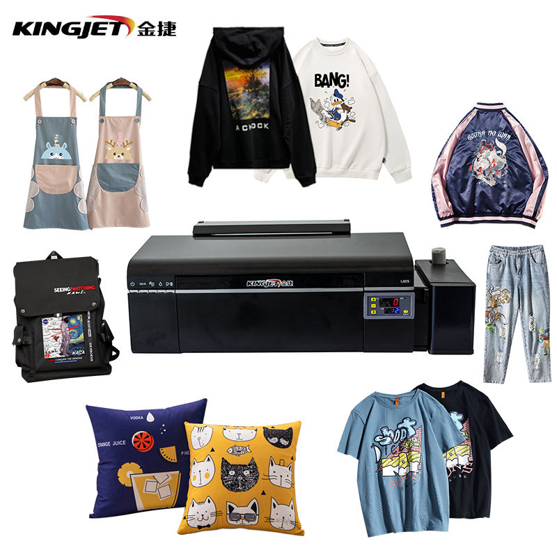 Small combo a3 PTF t-shirt printer tshirt heat press machine sublimation digital t shirt printing machine