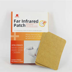 Prescription shoulder pain relief heat patch pain reliver
