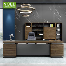 Luxury CEO Boss Executive Large Modern Wooden Office Table Design in Office Furniture