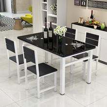 Luxury marble square dining table ,table with stainless steel base