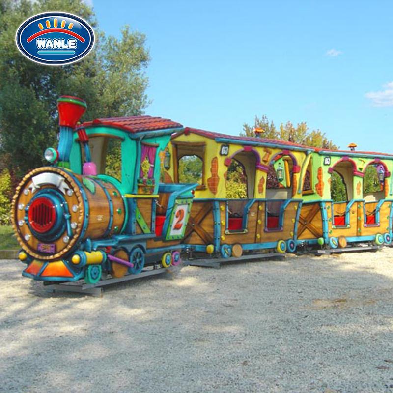 <span class=keywords><strong>Kinder</strong></span> Vergnügungspark Zugfahrten zum Verkauf Mini elektrische Zugfahrten