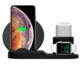 2019 hot selling new product custom LOGO charging kits fast 3 in 1 wireless charger for iphone apple watch and Ipod