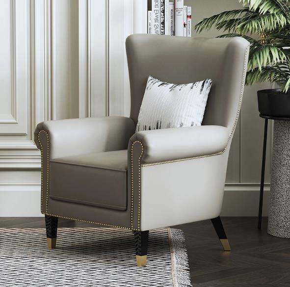 Accent Lounge Living Room Chair Italian Lounge Modern
