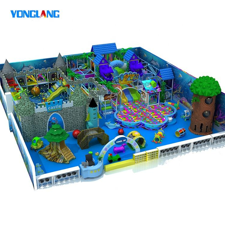 Customized Children Commercial Small Plastic Indoor Playground