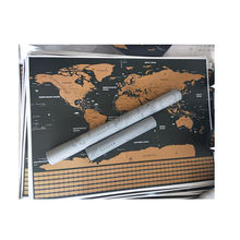 40*30cm Decorative Wallpaper World Map Paper  World Map