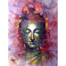 5D DIY Diamond Mosaic Buddha Needlework Buddhism Religion Diamond Embroidery Full Drill Cross Stitch Wall Art Diamond Painting