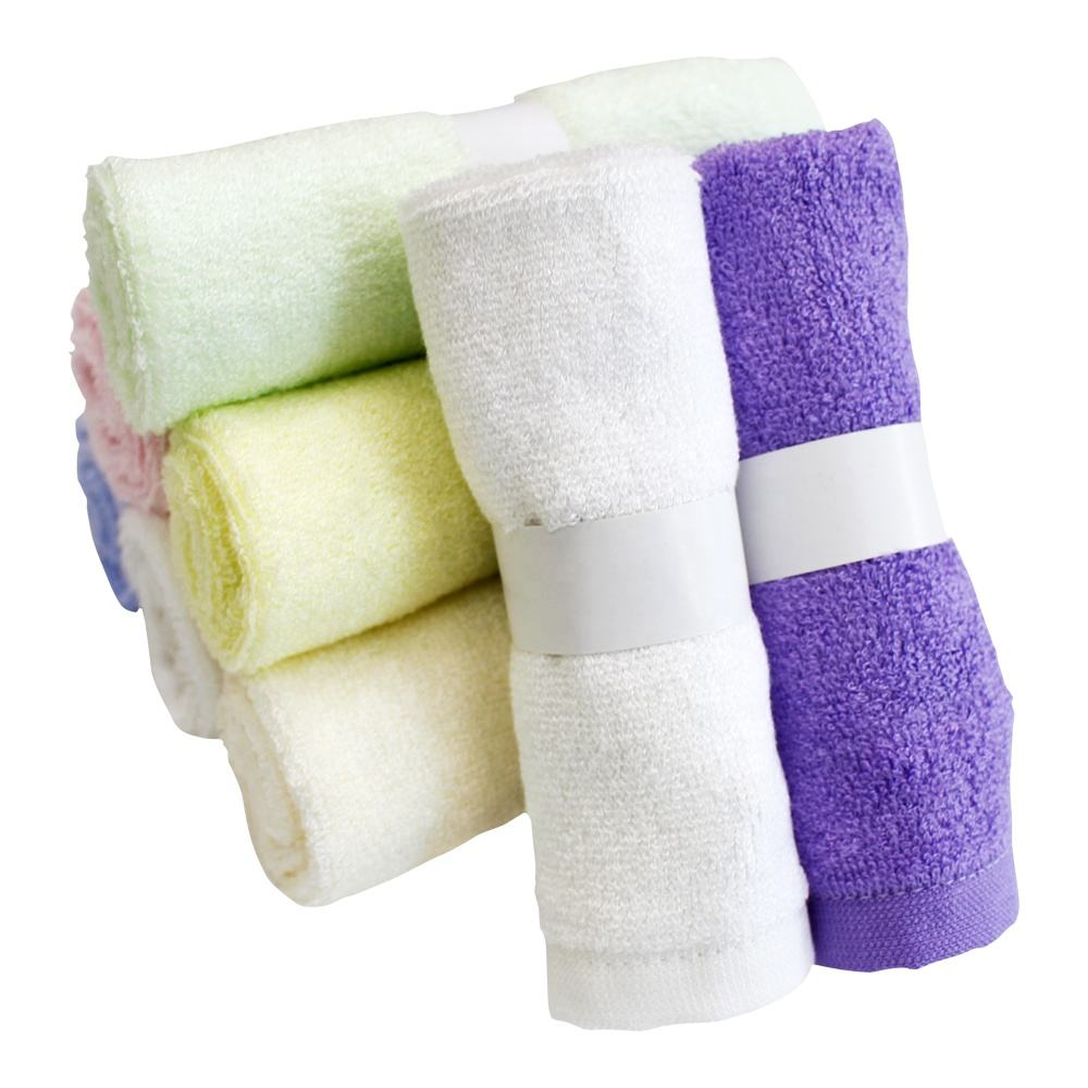 Baby Washcloths Hypoallergenic Organic Bamboo Towel Ultra Soft and Absorbent Natural Reusable Towel