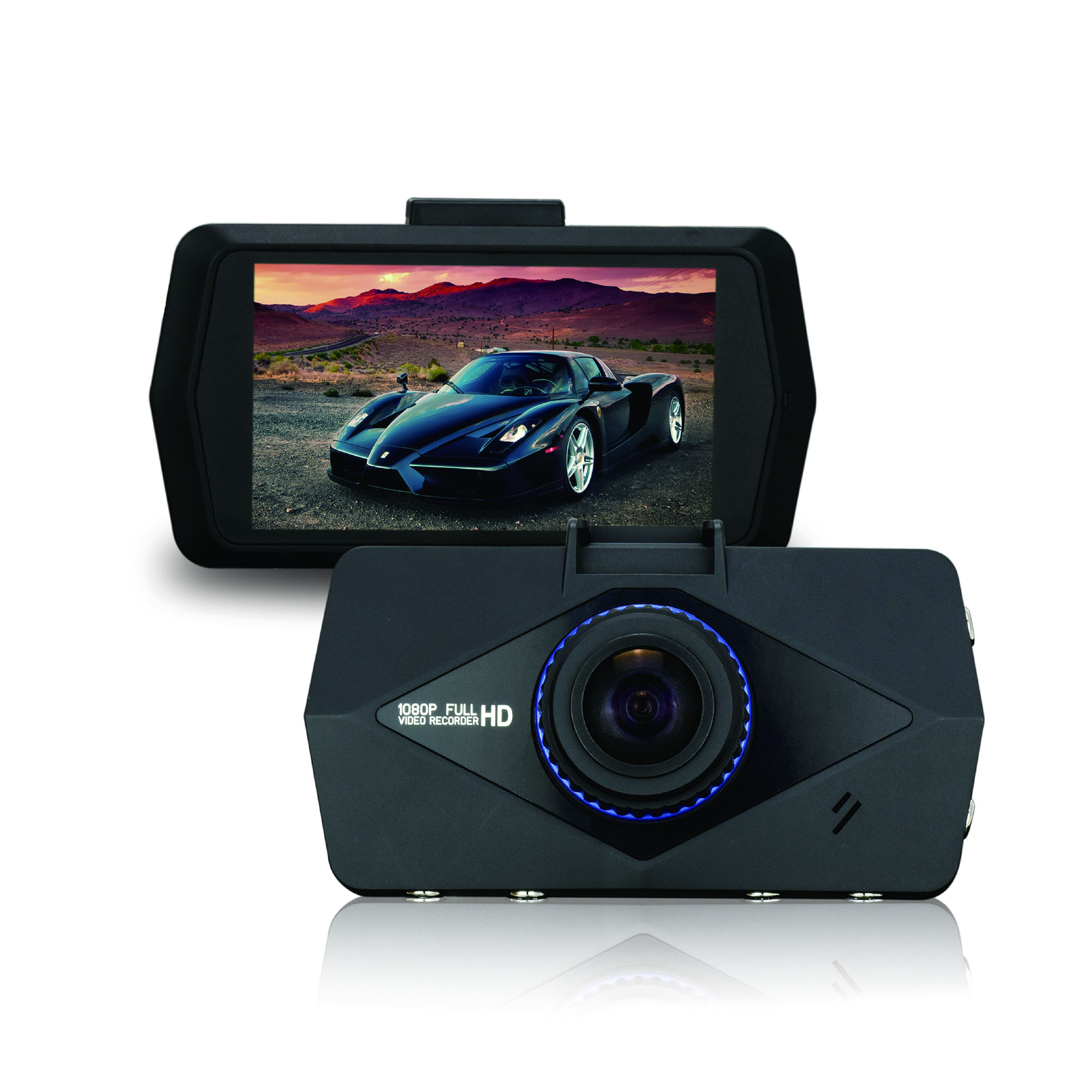 Best selling 2.7 inch FHD 1080p 30fps Car camera support G-sensor motion detection